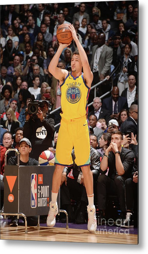 Event Metal Print featuring the photograph Klay Thompson by Andrew D. Bernstein