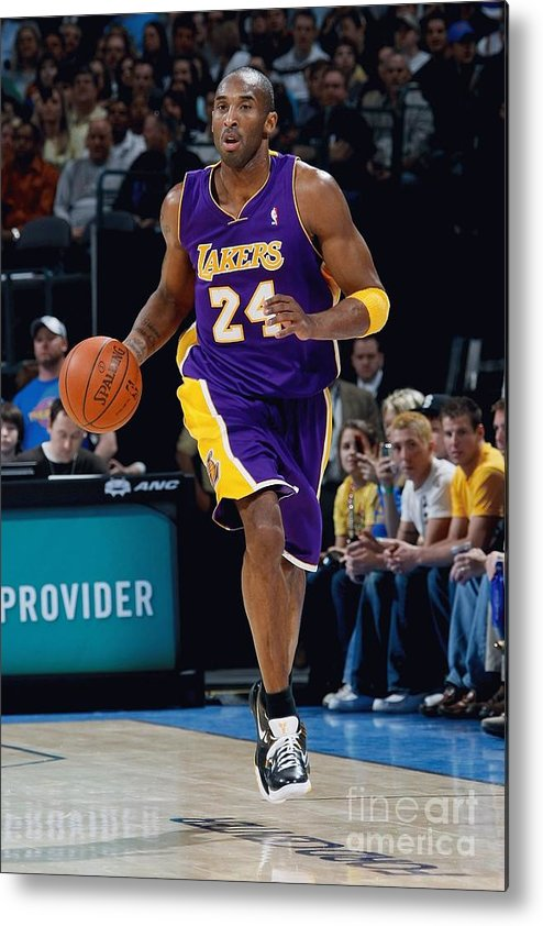 Nba Pro Basketball Metal Print featuring the photograph Kobe Bryant by Layne Murdoch