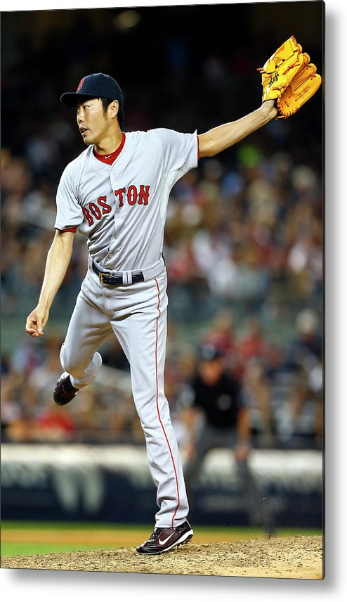 Ninth Inning Metal Print featuring the photograph Koji Uehara by Rich Schultz