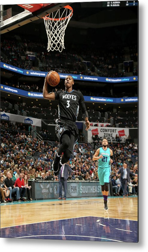 Nba Pro Basketball Metal Print featuring the photograph Kris Dunn by Kent Smith