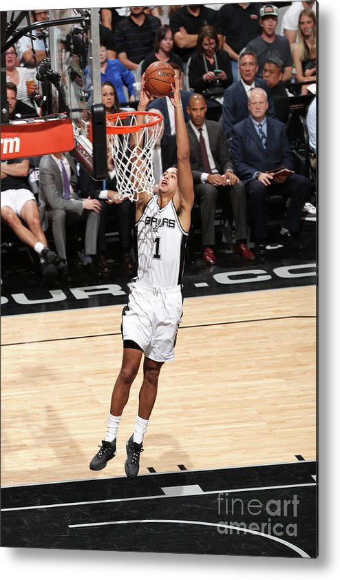 Playoffs Metal Print featuring the photograph Kyle Anderson by Joe Murphy