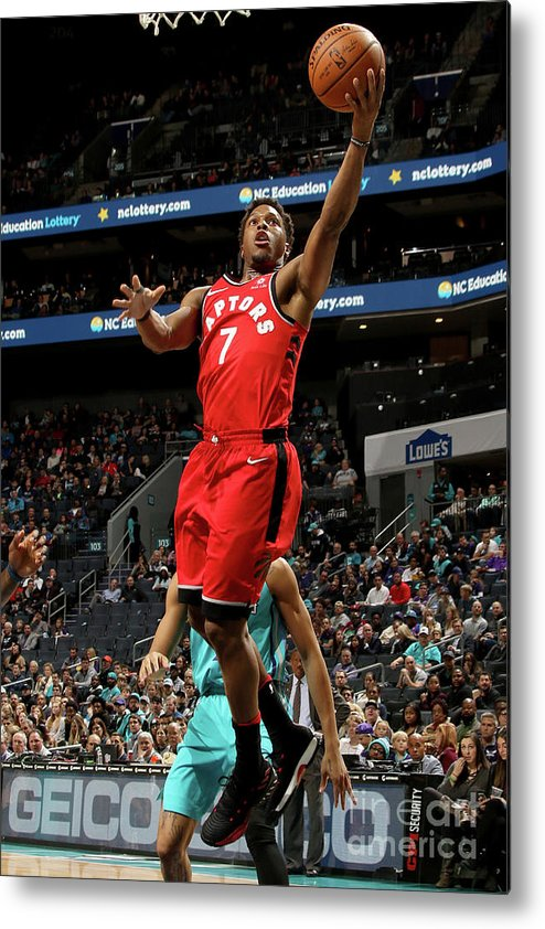Nba Pro Basketball Metal Print featuring the photograph Kyle Lowry by Brock Williams-smith