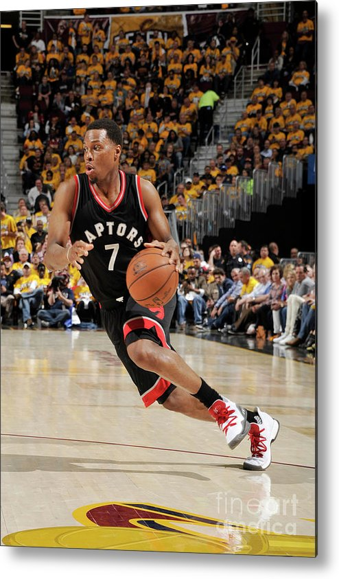 People Metal Print featuring the photograph Kyle Lowry by David Liam Kyle