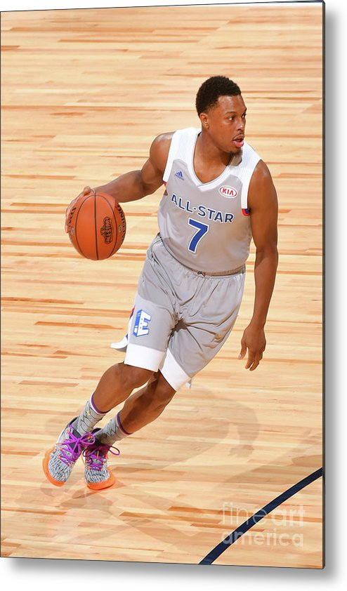 People Metal Print featuring the photograph Kyle Lowry by Jesse D. Garrabrant