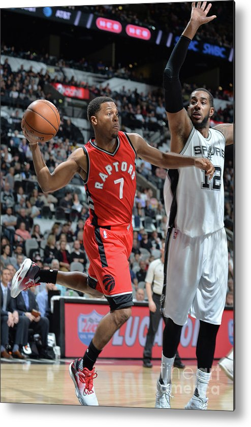 Nba Pro Basketball Metal Print featuring the photograph Kyle Lowry by Mark Sobhani