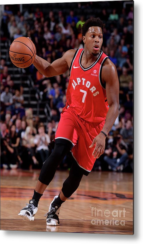 Nba Pro Basketball Metal Print featuring the photograph Kyle Lowry by Michael Gonzales