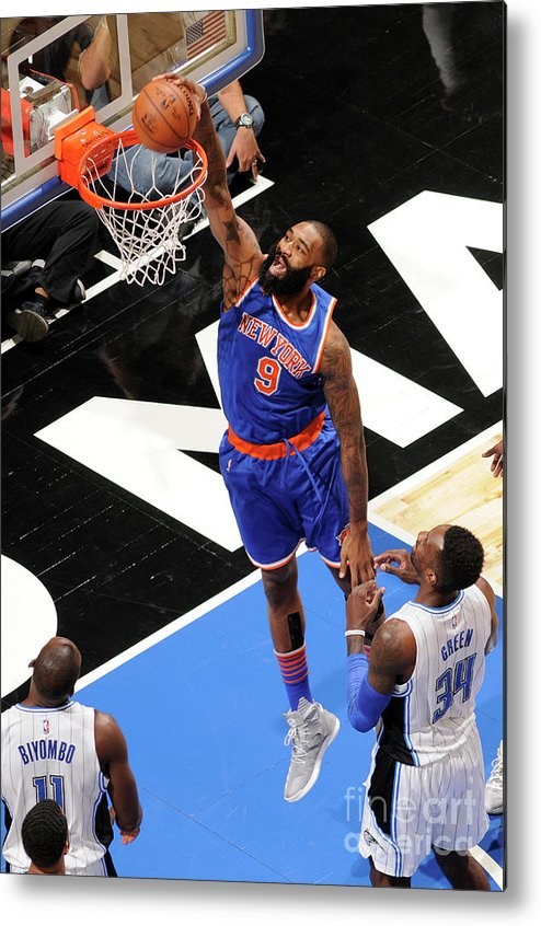 Nba Pro Basketball Metal Print featuring the photograph Kyle O'quinn by Fernando Medina
