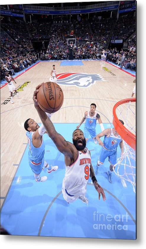 Nba Pro Basketball Metal Print featuring the photograph Kyle O'quinn by Rocky Widner