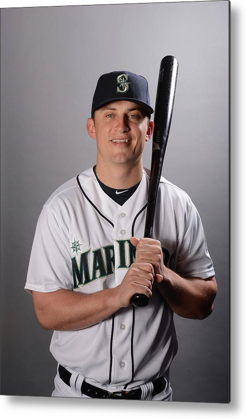 Media Day Metal Print featuring the photograph Kyle Seager by Norm Hall