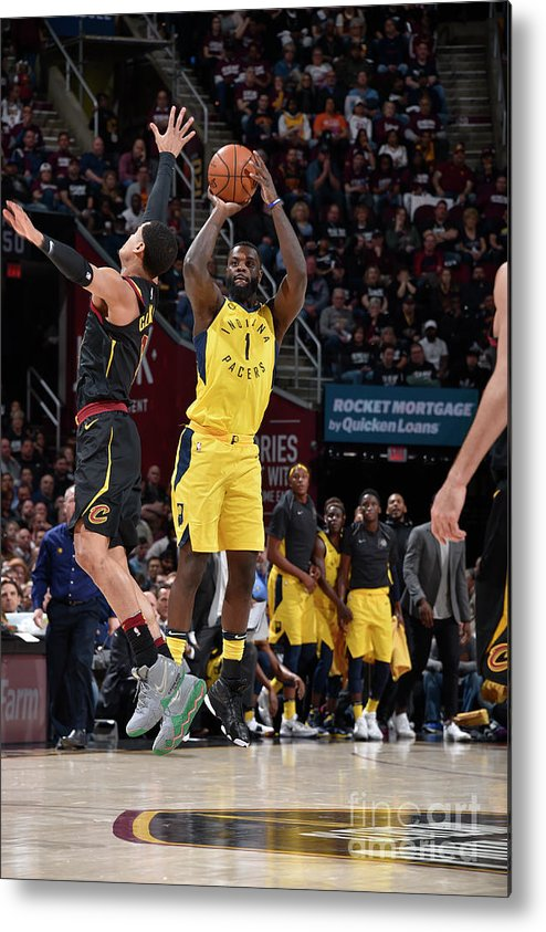 Playoffs Metal Print featuring the photograph Lance Stephenson by David Liam Kyle