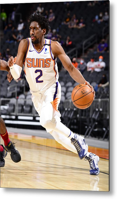 Nba Pro Basketball Metal Print featuring the photograph Langston Galloway by Barry Gossage