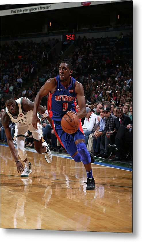 Nba Pro Basketball Metal Print featuring the photograph Langston Galloway by Gary Dineen