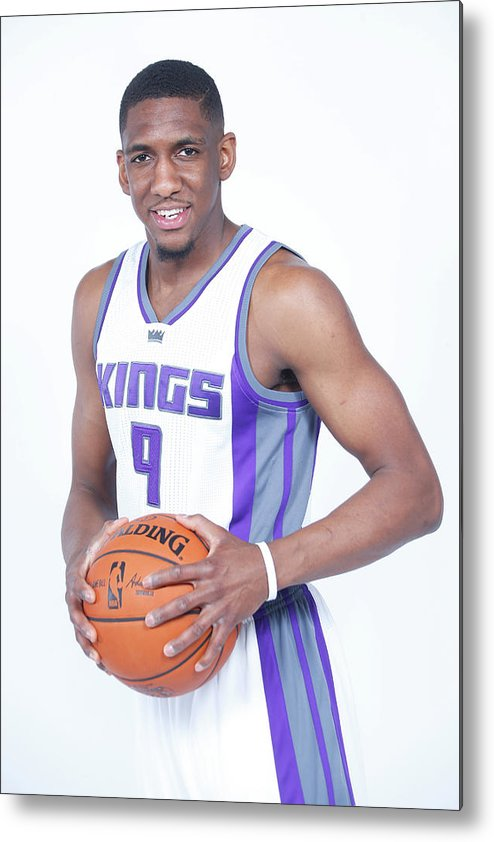 Nba Pro Basketball Metal Print featuring the photograph Langston Galloway by Rocky Widner