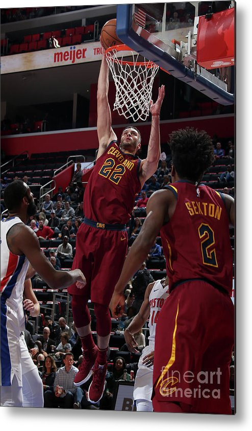 Nba Pro Basketball Metal Print featuring the photograph Larry Nance by Brian Sevald