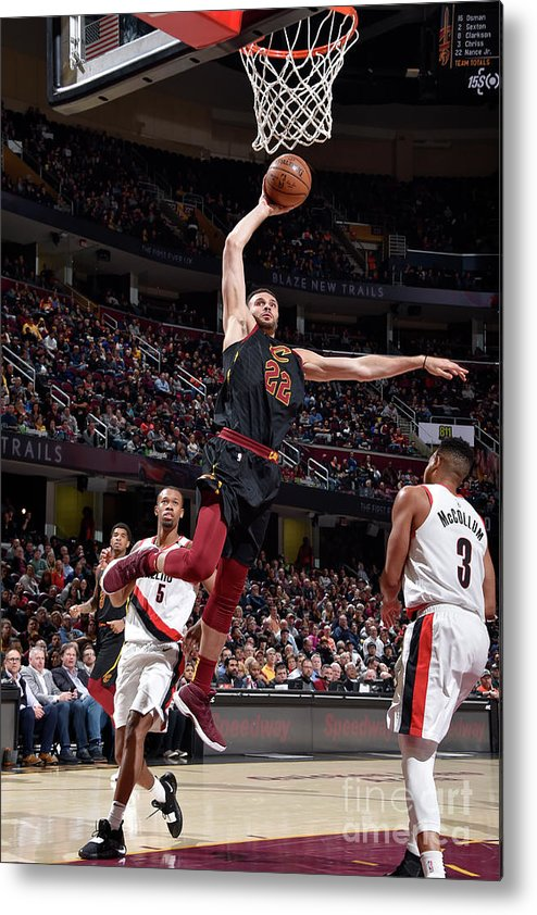 Nba Pro Basketball Metal Print featuring the photograph Larry Nance by David Liam Kyle