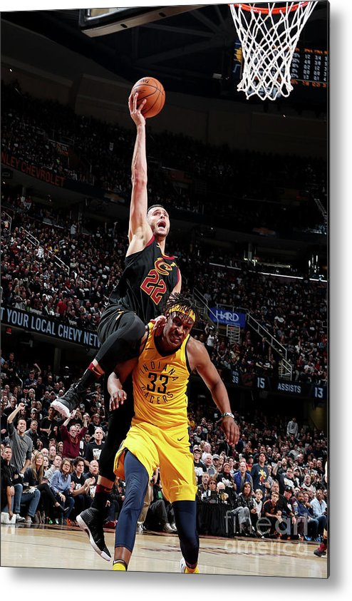Playoffs Metal Print featuring the photograph Larry Nance by Nathaniel S. Butler