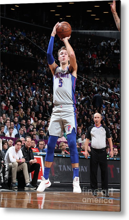 Nba Pro Basketball Metal Print featuring the photograph Luke Kennard by Nathaniel S. Butler