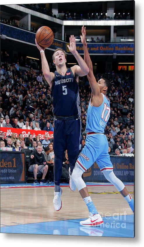 Nba Pro Basketball Metal Print featuring the photograph Luke Kennard by Rocky Widner