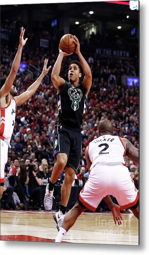Playoffs Metal Print featuring the photograph Malcolm Brogdon by Mark Blinch
