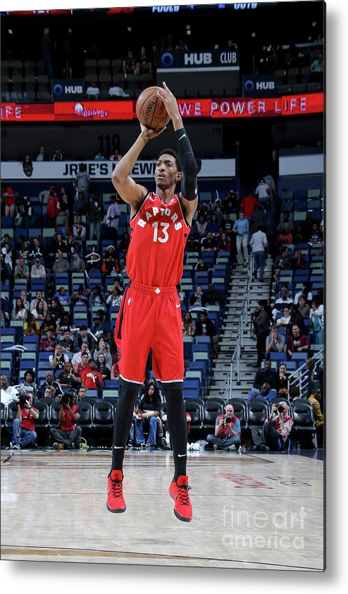 Smoothie King Center Metal Print featuring the photograph Malcolm Miller by Layne Murdoch Jr.