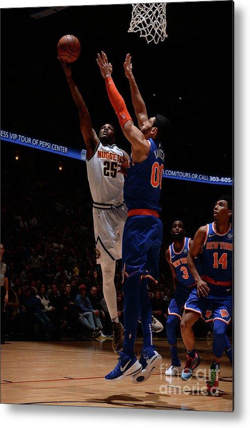 Nba Pro Basketball Metal Print featuring the photograph Malik Beasley by Bart Young
