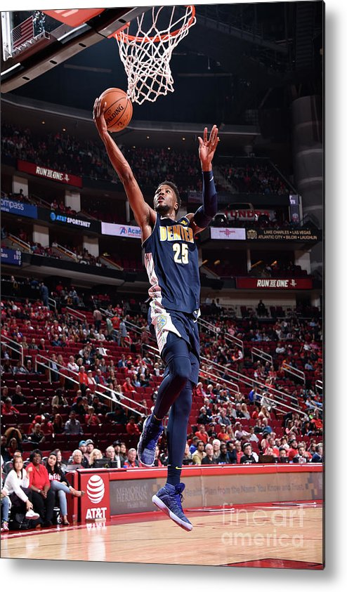 Nba Pro Basketball Metal Print featuring the photograph Malik Beasley by Bill Baptist