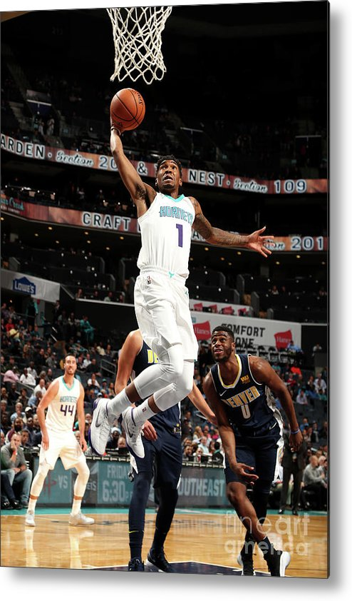 Nba Pro Basketball Metal Print featuring the photograph Malik Monk by Kent Smith