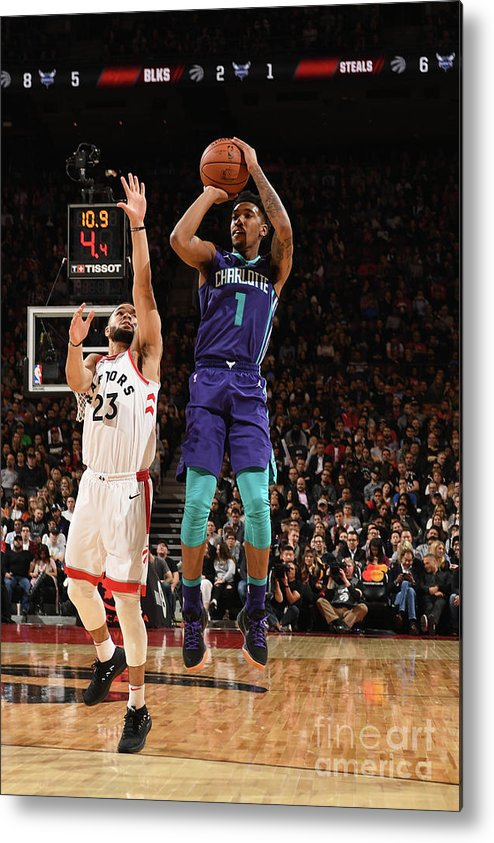 Nba Pro Basketball Metal Print featuring the photograph Malik Monk by Ron Turenne