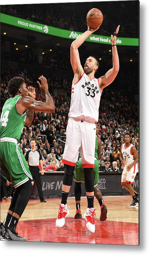 Nba Pro Basketball Metal Print featuring the photograph Marc Gasol by Ron Turenne
