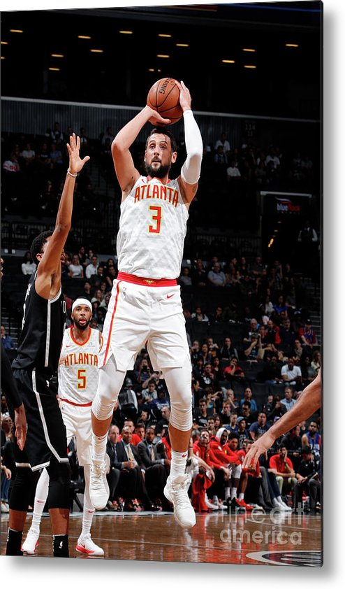 Nba Pro Basketball Metal Print featuring the photograph Marco Belinelli by Nathaniel S. Butler