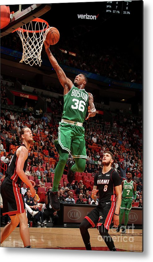 Nba Pro Basketball Metal Print featuring the photograph Marcus Smart by Issac Baldizon
