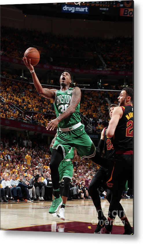 Playoffs Metal Print featuring the photograph Marcus Smart by Nathaniel S. Butler