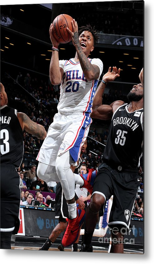 Nba Pro Basketball Metal Print featuring the photograph Markelle Fultz by Nathaniel S. Butler