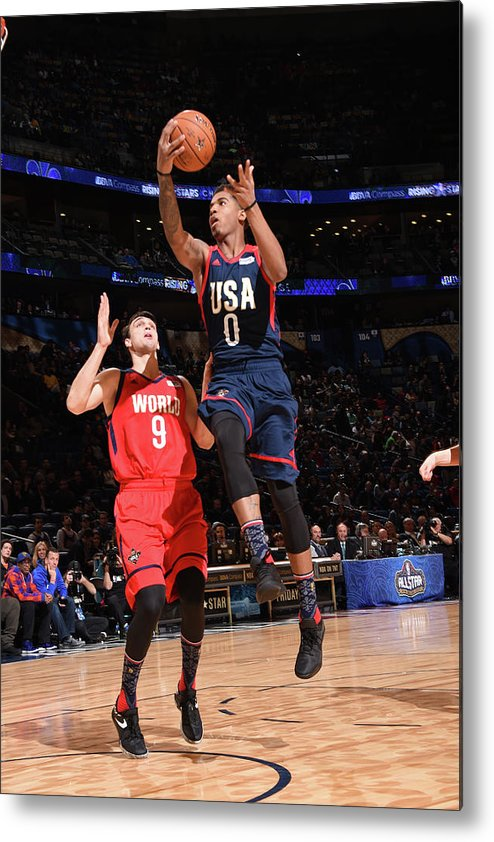 Event Metal Print featuring the photograph Marquese Chriss by Andrew D. Bernstein