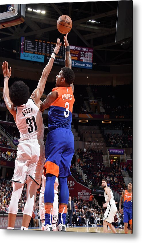 Nba Pro Basketball Metal Print featuring the photograph Marquese Chriss by David Liam Kyle