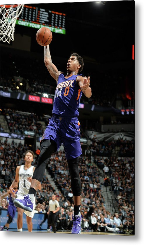 Nba Pro Basketball Metal Print featuring the photograph Marquese Chriss by Mark Sobhani