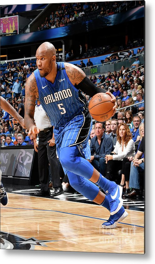 Nba Pro Basketball Metal Print featuring the photograph Marreese Speights by Fernando Medina
