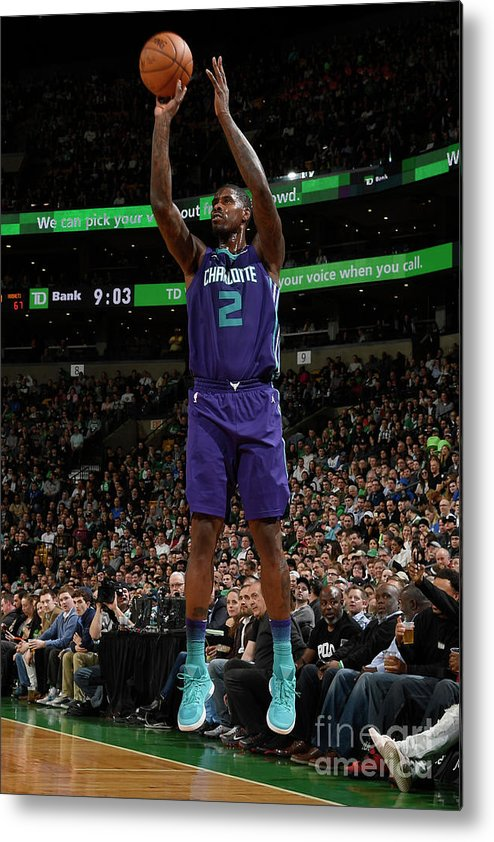 Nba Pro Basketball Metal Print featuring the photograph Marvin Williams by Brian Babineau