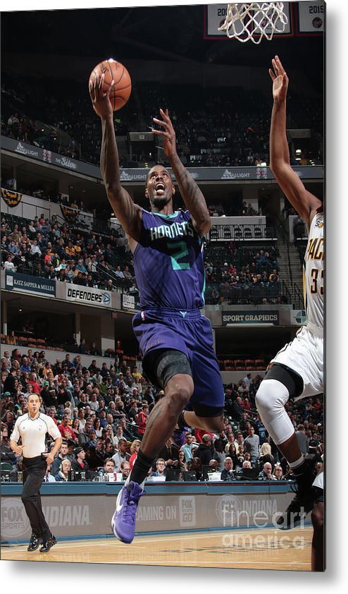 Nba Pro Basketball Metal Print featuring the photograph Marvin Williams by Ron Hoskins