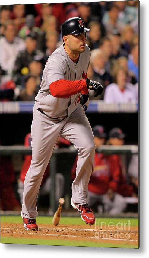 José Contreras Metal Print featuring the photograph Matt Holliday by Doug Pensinger