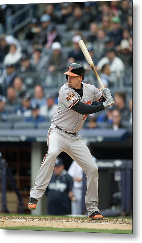 East Metal Print featuring the photograph Matt Wieters by Rob Tringali