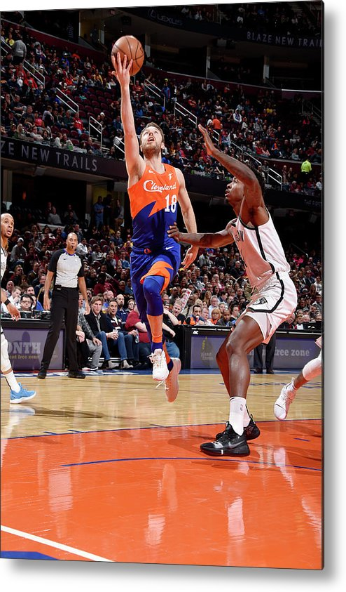 Nba Pro Basketball Metal Print featuring the photograph Matthew Dellavedova by David Liam Kyle