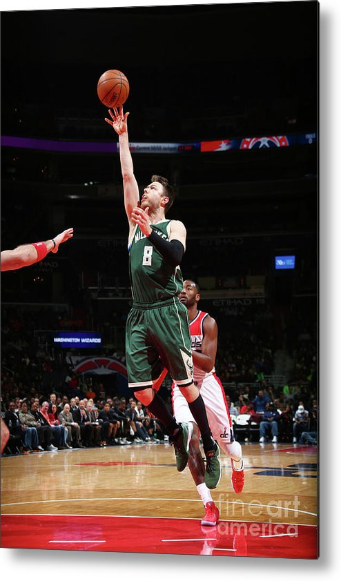 Nba Pro Basketball Metal Print featuring the photograph Matthew Dellavedova by Ned Dishman