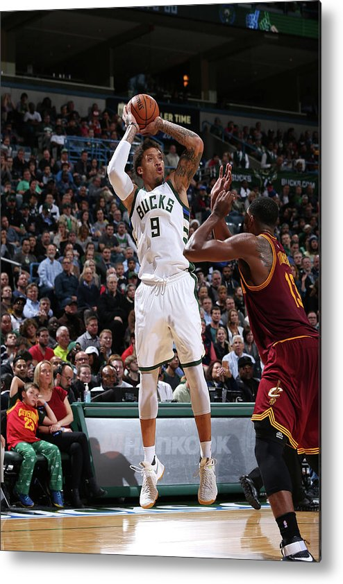 Michael Beasley Metal Print featuring the photograph Michael Beasley by Gary Dineen