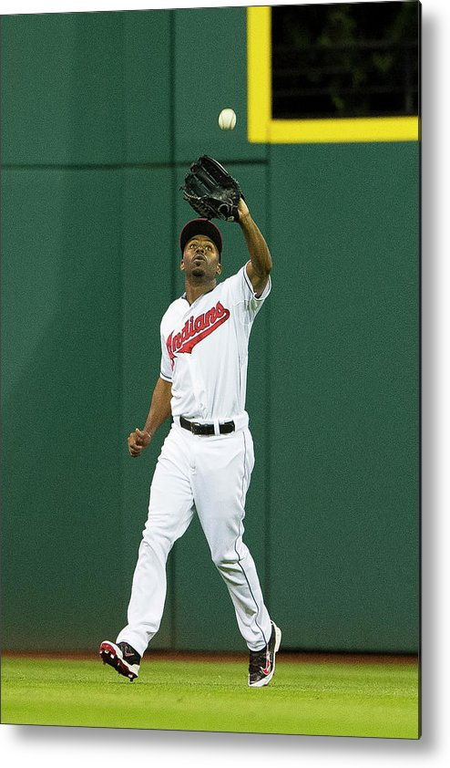 Michael Bourn Metal Print featuring the photograph Michael Bourn and Xander Bogaerts by Jason Miller