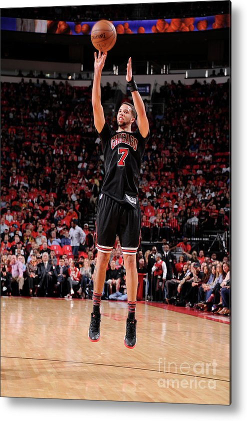 Nba Pro Basketball Metal Print featuring the photograph Michael Carter-williams by Bill Baptist