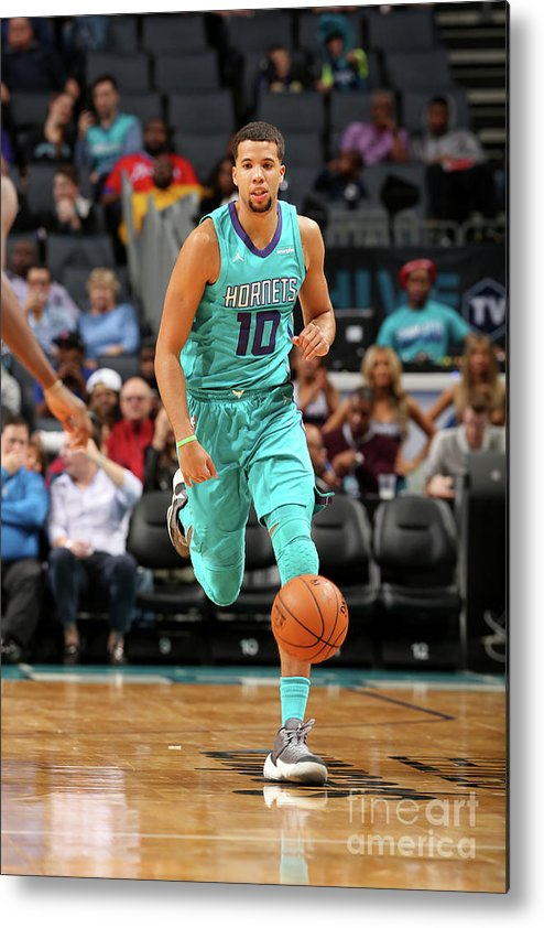 Nba Pro Basketball Metal Print featuring the photograph Michael Carter-williams by Kent Smith