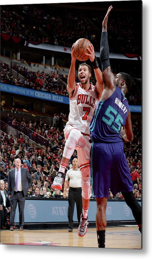 Nba Pro Basketball Metal Print featuring the photograph Michael Carter-williams by Randy Belice