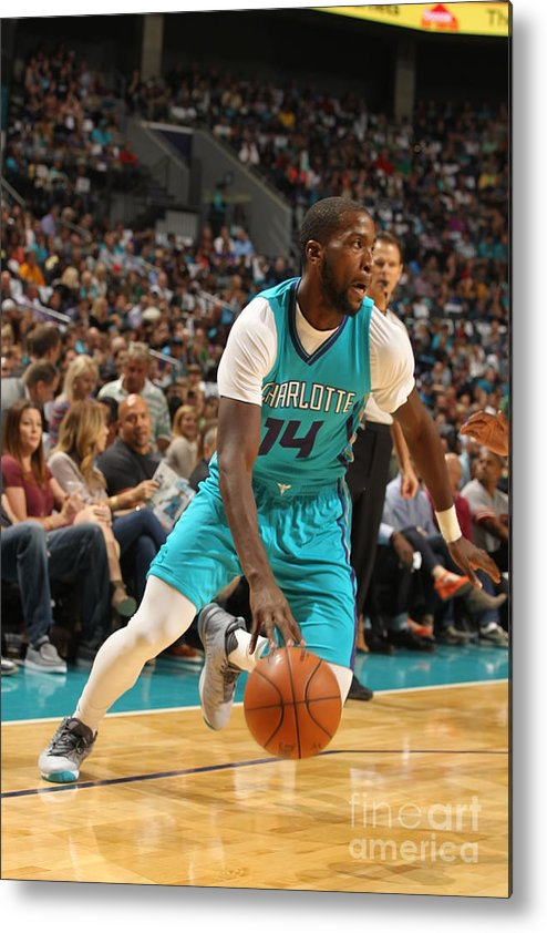 Sport Metal Print featuring the photograph Michael Kidd-gilchrist by Brock Williams-smith