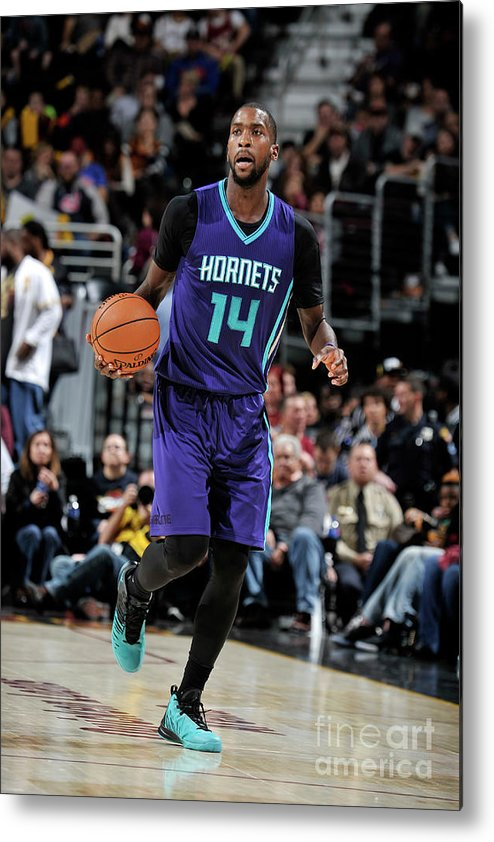 Nba Pro Basketball Metal Print featuring the photograph Michael Kidd-gilchrist by David Liam Kyle